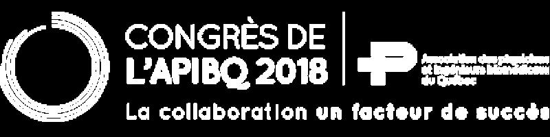 Congrès de l'APIBQ 2018