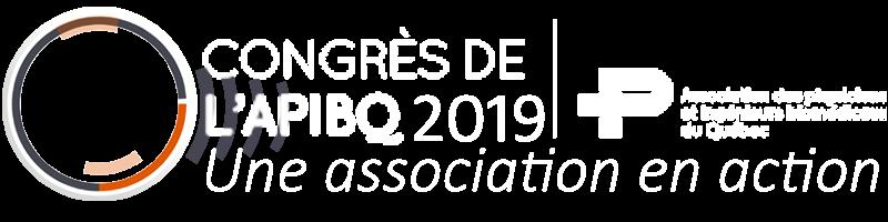 Congrès de l'APIBQ 2019