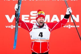 Alex Harvey of Canada Sprint Freestyle Final FIS Cross-Country Ski World Cup Finals Quebec City, QC March 17, 2017